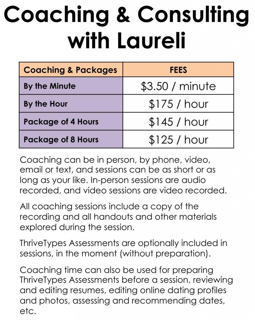 ThriveTypes Coaching Price Summary 3-15-16-2